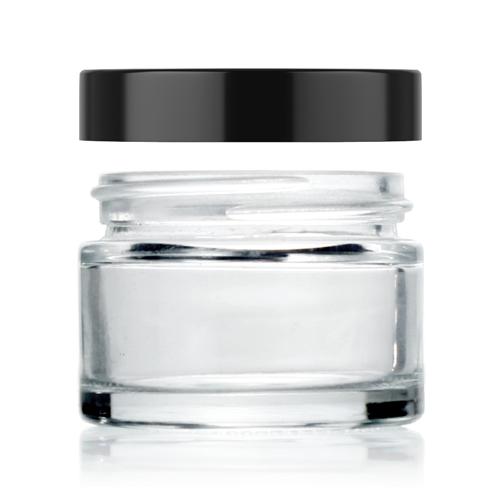1oz straight glass jar