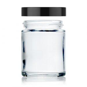 2 oz straight glass jar