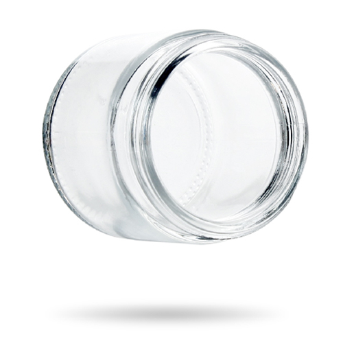 3 oz straight glass jar