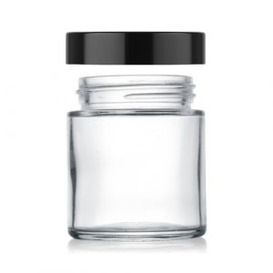 4 oz straight glass jar