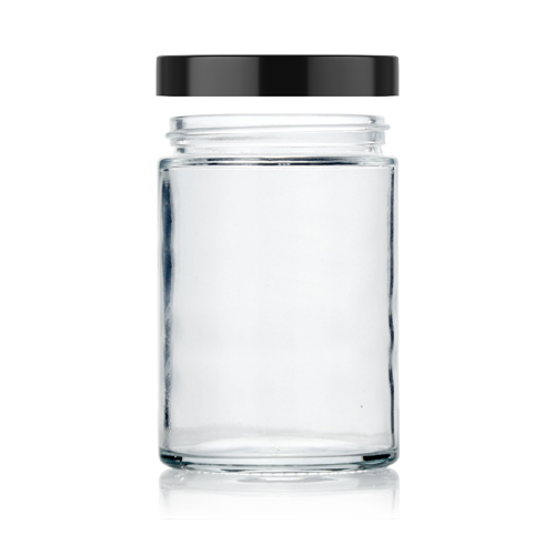 6 oz straight glass jar
