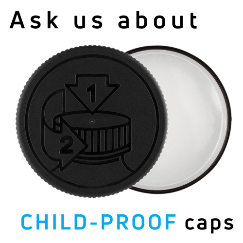 child-proof caps